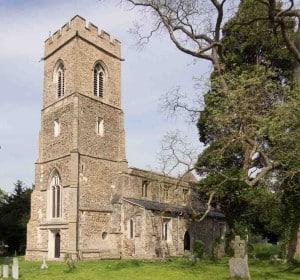 Tower repairs at Great Gransden